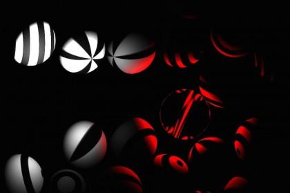 Шары в темноте