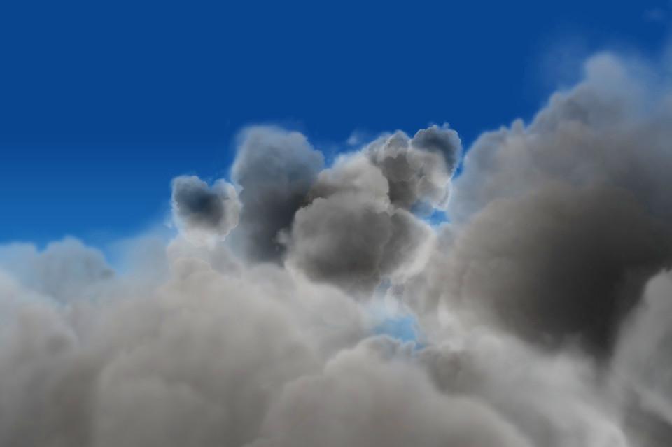 Креативные 3D облака и тучи