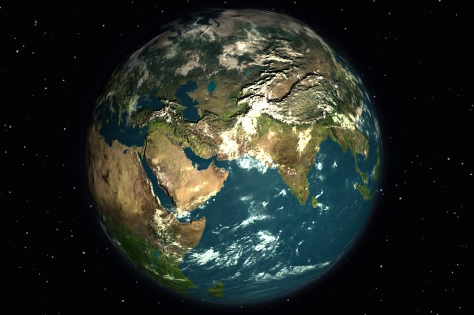 3D модель Земли