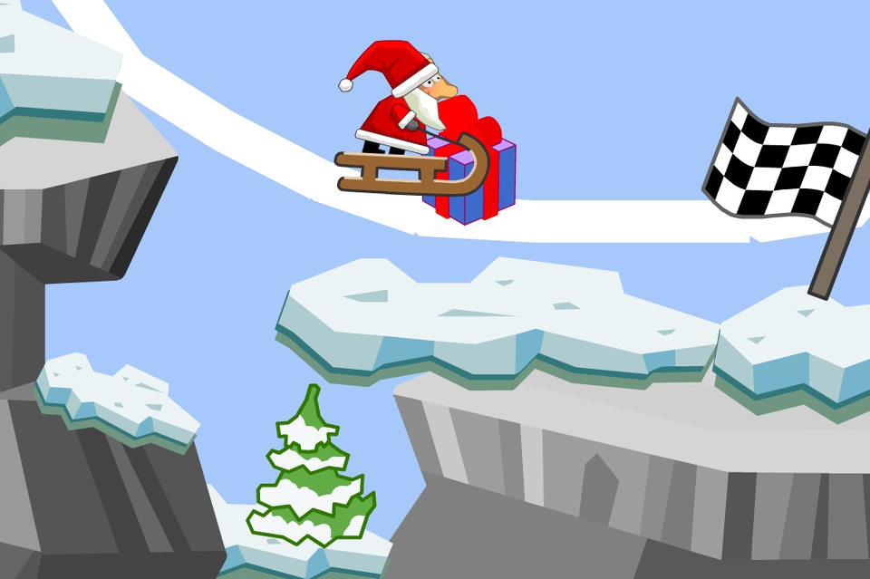 Снеговая линия для Деда Мороза
