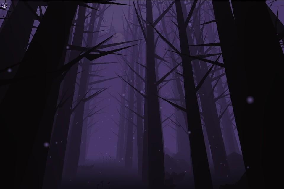 Бесконечный темный лес