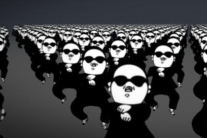 Танцуем Gangnam Style