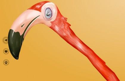 Балдеющий фламинго