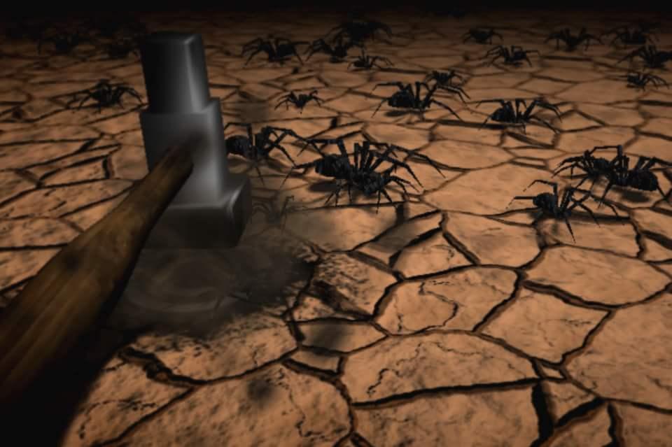 Прихлопнуть паука
