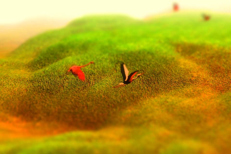 3D ландшафт