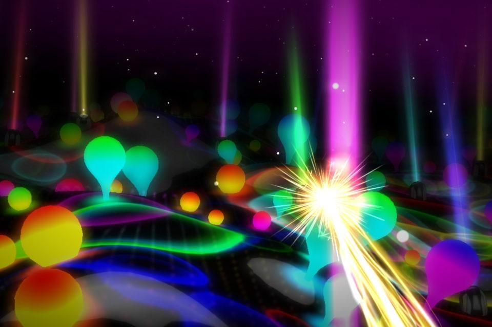 Увлекательные разноцветные огни