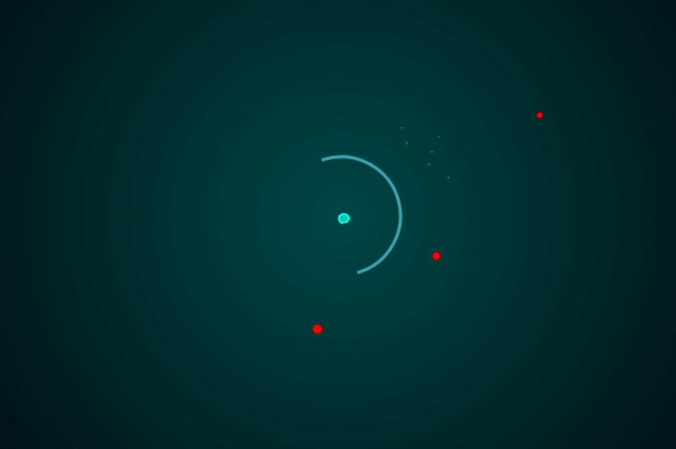 Оборонительная игра «Защити ядро»