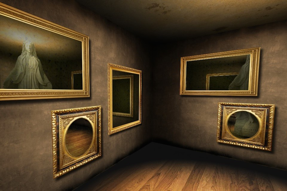 Зеркальная интерактивная комната