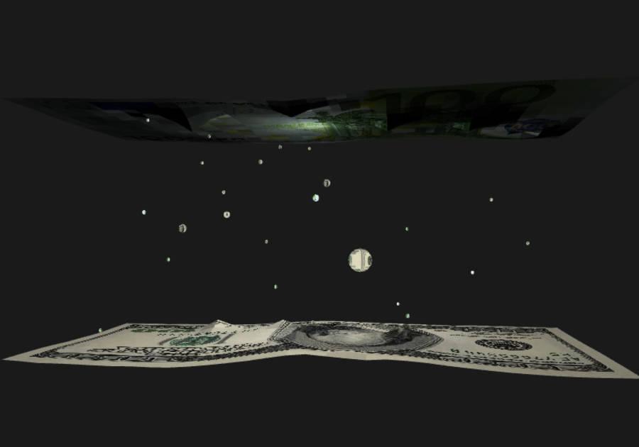 Визуализация торговли валютами