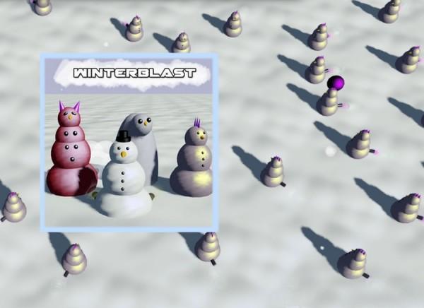 Стрелялка по снеговикам