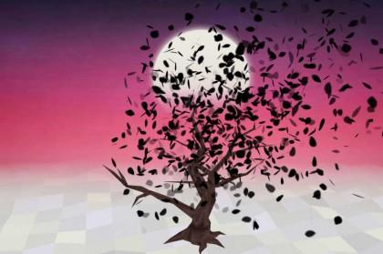 Опадающие листья