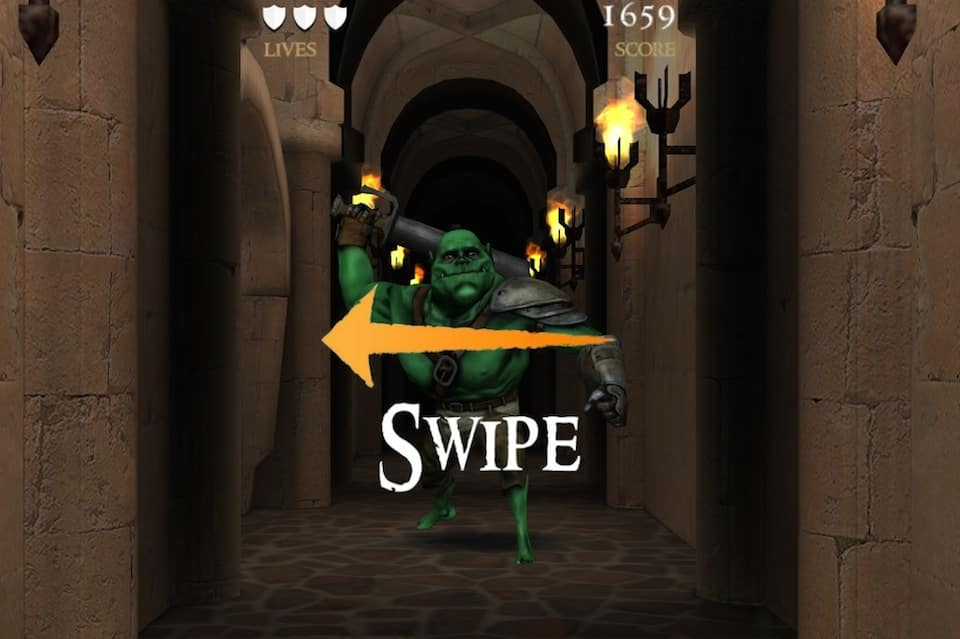 Орки в подземелье