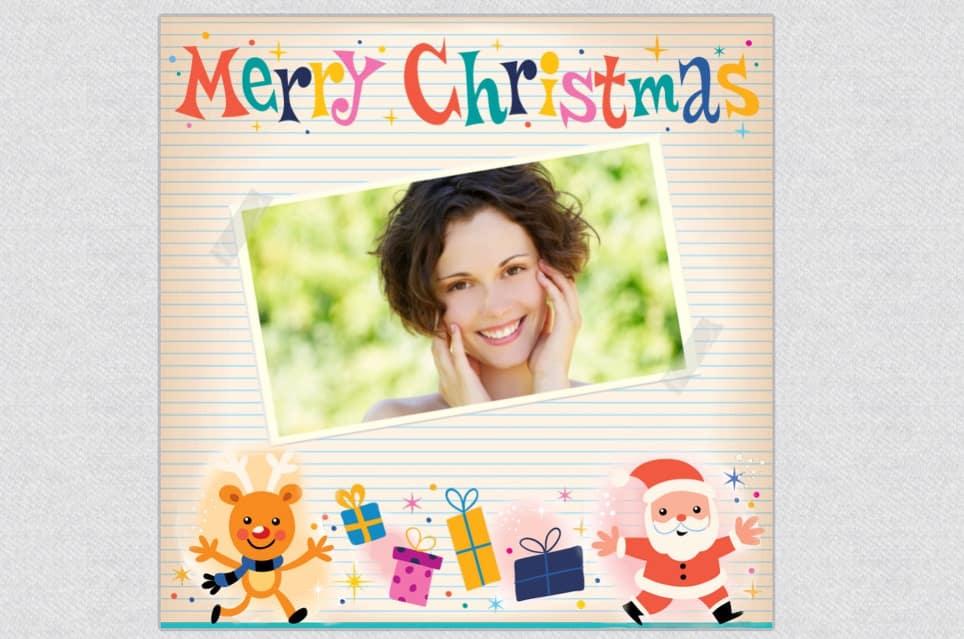 Сделать новогодние открытки