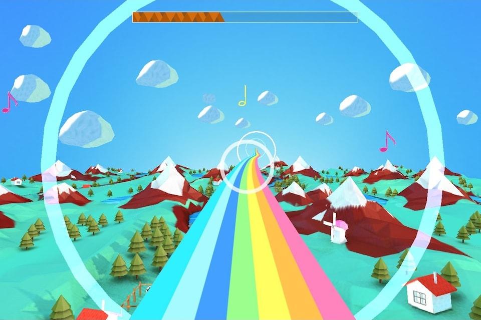 Онлайн игра Rainbow Road