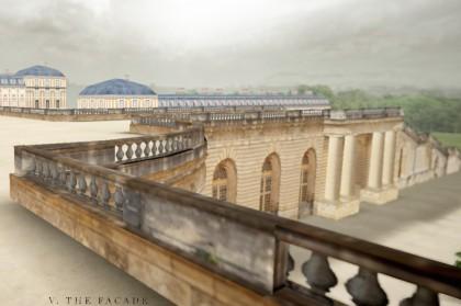 Виртуальный тур в Версаль. 3D проект