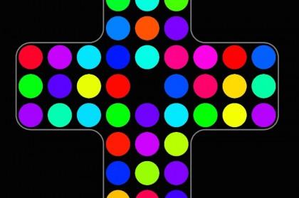Логическая онлайн игра с точками