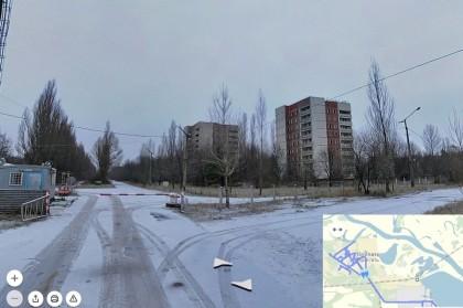 Виртуальная прогулка по Чернобылю