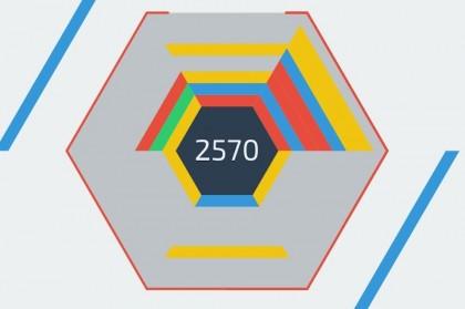 Игра в шестиугольный тетрис