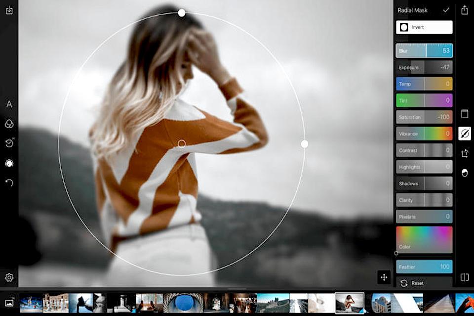Фоторедактор Polarr — улучшай фото онлайн